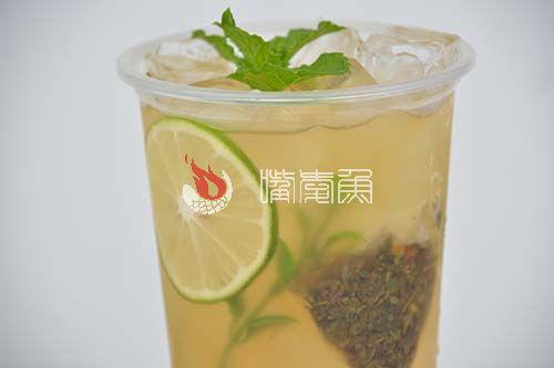 柠檬草本冰茶