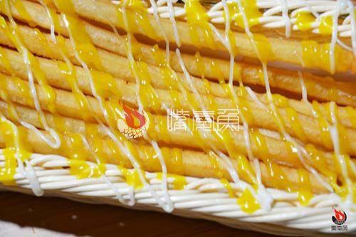嘴爱鱼黄芥末欢乐薯条