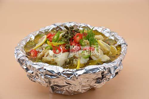 香辣藤椒柠檬酸菜鱼