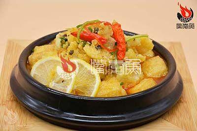 柠檬钵钵鱼米线